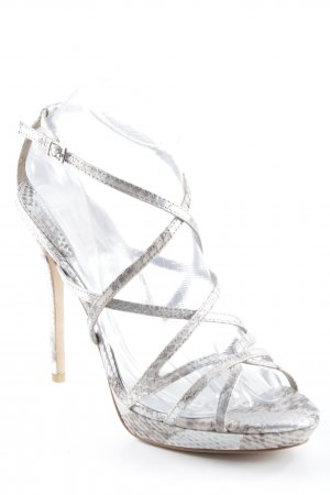 Badgley Mischka High Heel Sandaletten Animalmuster Metallelemente