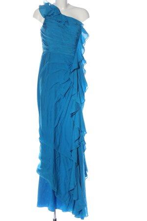 Badgley Mischka Maxikleid blau Elegant