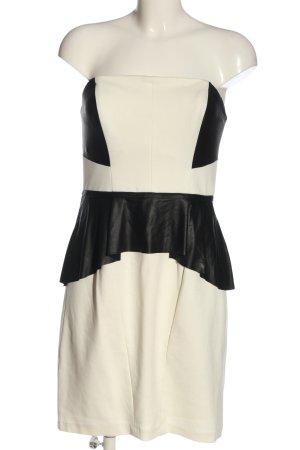 Badgley Mischka Off-The-Shoulder Dress white-black casual look
