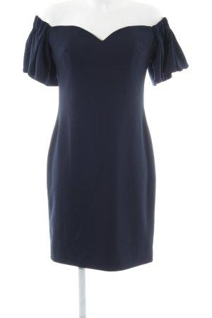 Badgley Mischka Off-The-Shoulder Dress blue elegant