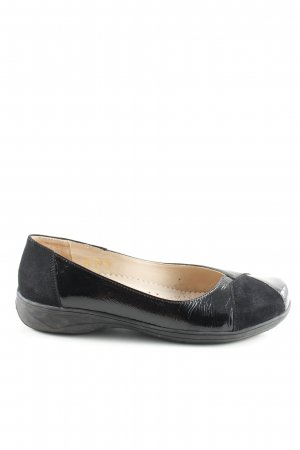Bär Patent Leather Ballerinas black business style