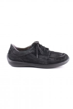 Bär Moccasins black casual look