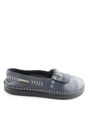 Bär Slip-on Shoes blue casual look