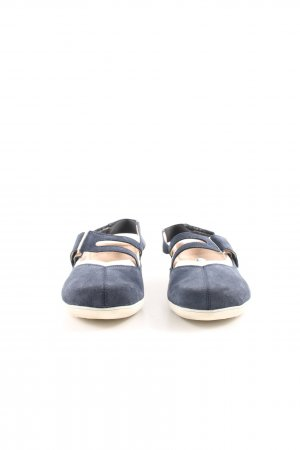 Bär Slip-on Shoes blue-natural white casual look