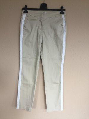 BAF Pantalone a 7/8 crema-bianco Cotone