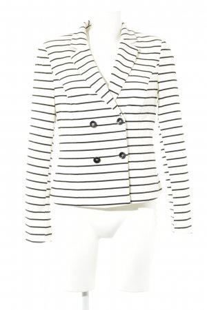 BAF Short Blazer white-black striped pattern casual look