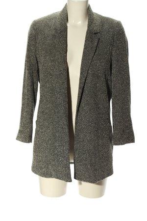 BAF Manteau court gris clair-noir style décontracté