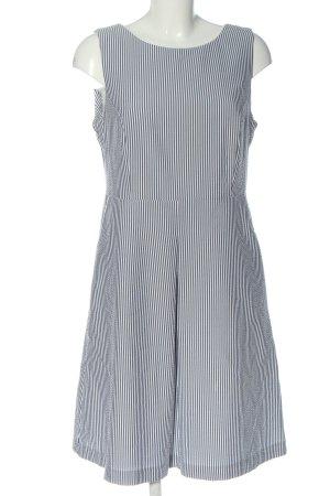 BAF Midikleid schwarz-weiß Streifenmuster Casual-Look