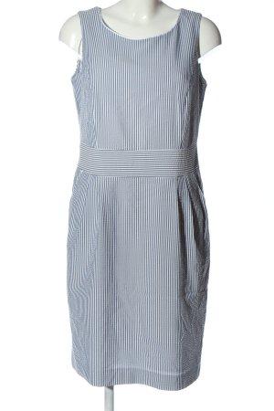 BAF Midi Dress black-white allover print casual look
