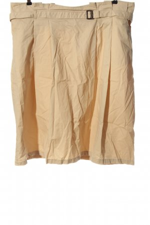 BAF Midi Skirt nude casual look