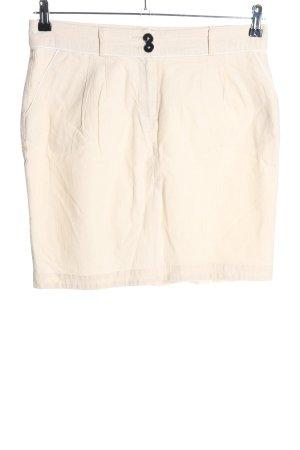 BAF Mini-jupe blanc cassé style décontracté
