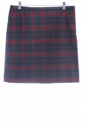 BAF Spódnica mini Wzór w kratkę Tekstylne aplikacje