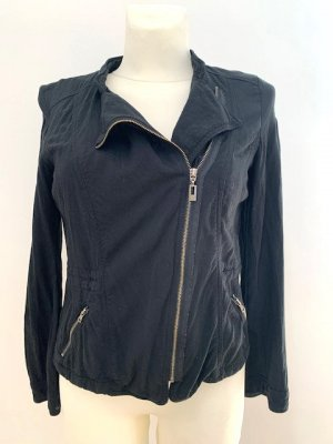 BAF Biker Jacket black viscose