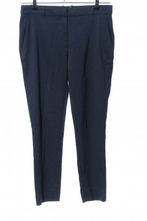 BAF Jersey Pants blue weave pattern business style
