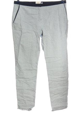 BAF Pantalon en jersey gris clair motif rayé style décontracté