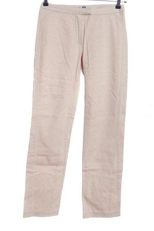 BAF Spodnie materiałowe w kolorze białej wełny W stylu casual