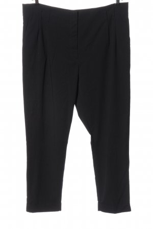 BAF Pantalon en jersey noir motif rayé style décontracté