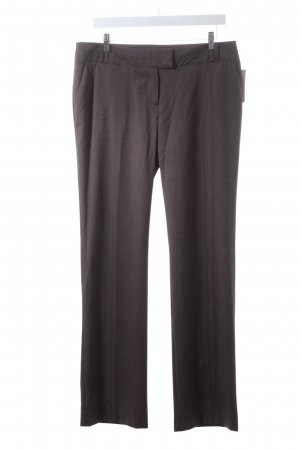 BAF Pantalon en jersey gris brun-crème Motif de tissage style d'affaires