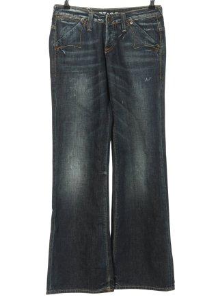 G-Star Workowate jeansy niebieski W stylu casual
