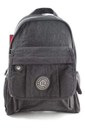 Bag Street Schulrucksack schwarz Casual-Look