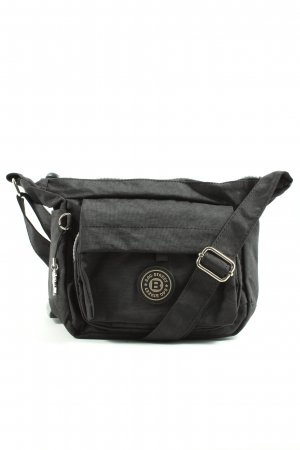 Bag Street Canvas Bag black casual look