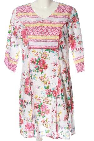 Bagatelle Mini Dress flower pattern casual look