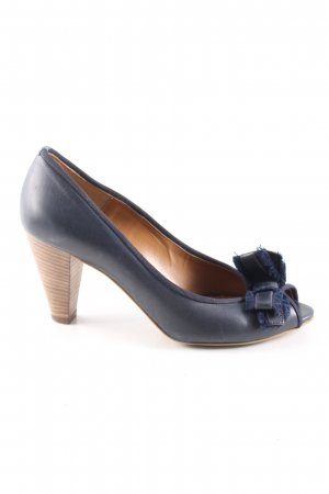 Bagatt Peeptoe Pumps blau Casual-Look