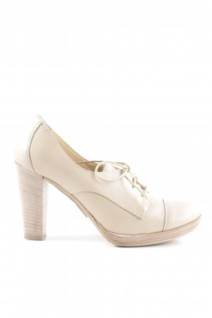 Bagatt Plateau-Pumps creme Business-Look