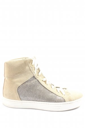 Bagatt Lace-Up Sneaker cream-silver-colored casual look