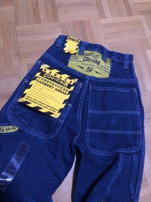 coo:cain Jeans larghi blu