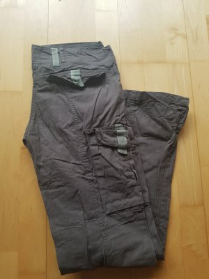 Emoi by emonite Pantalone largo grigio-verde