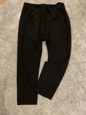 Baggy Pants black mixture fibre