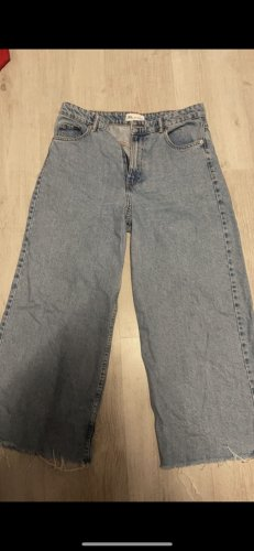 Zara Jeans larghi azzurro-grigio ardesia