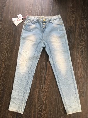 Simply Chic Baggy Jeans azure