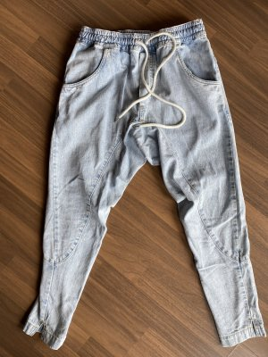 Bassike Workowate jeansy jasnoniebieski-błękitny