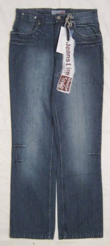 Baggy jeans blauw