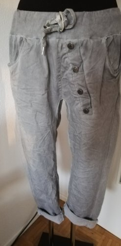 Made in Italy Baggy Pants light grey