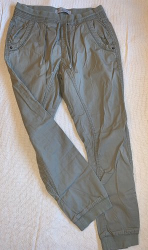 Clockhouse Baggy Pants green grey-ocher