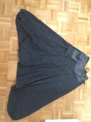 Pantalon «Baggy» gris anthracite-gris foncé coton