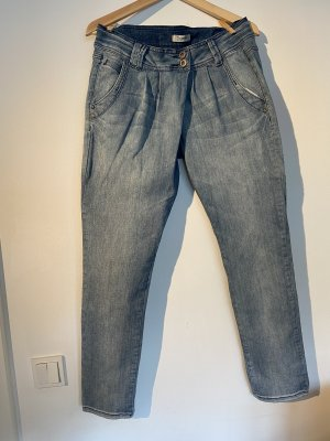 Pimkie Baggy Jeans slate-gray-pale blue