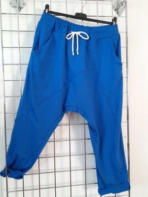 Made in Italy Baggy broek blauw