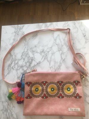 Bags Garden Rosa Tasche Cluth Boho NEU
