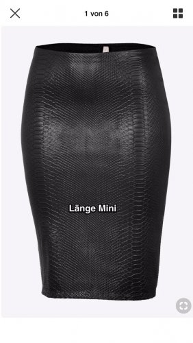 Bailey44 Miniskirt black