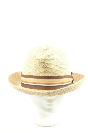 bailey of hollywood Straw Hat primrose striped pattern street-fashion look