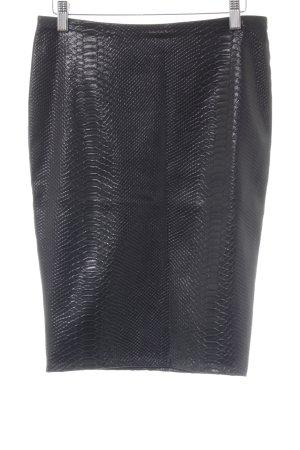 Bailey44 Ołówkowa spódnica ciemnobrązowy Zwierzęcy wzór