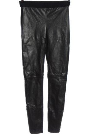 Bailey44 Stoffen broek zwart casual uitstraling