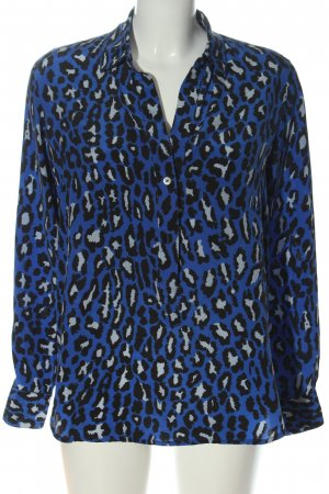 Bailly Diehl Shirt Blouse blue-black allover print business style