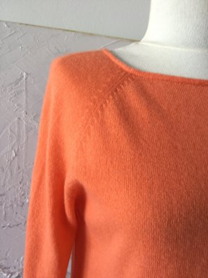 Bailly Diehl Kaszmirowy sweter pomarańczowy Kaszmir