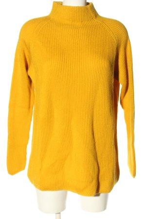 Bailly Diehl Sweter z golfem jasny pomarańczowy W stylu casual