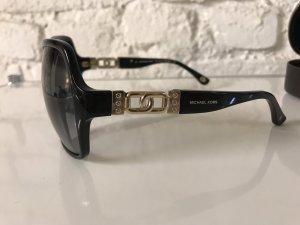 Michael Kors Hoekige zonnebril goud-zwart